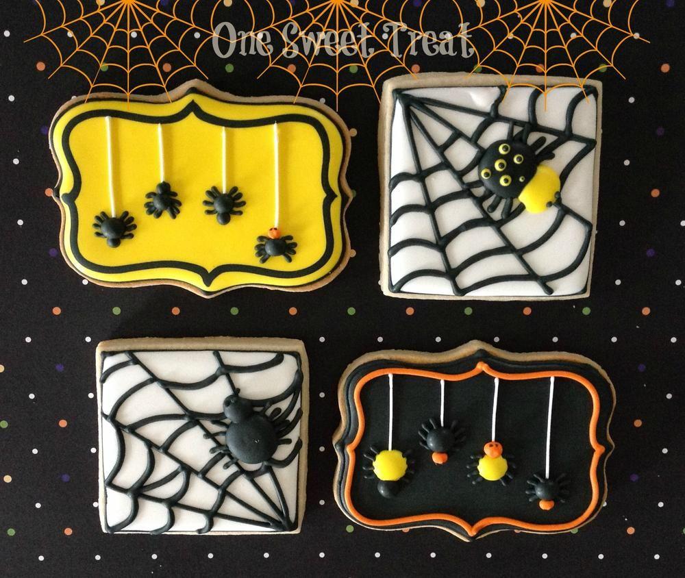 Halloween spider cookies | Halloween - Biscuits ...