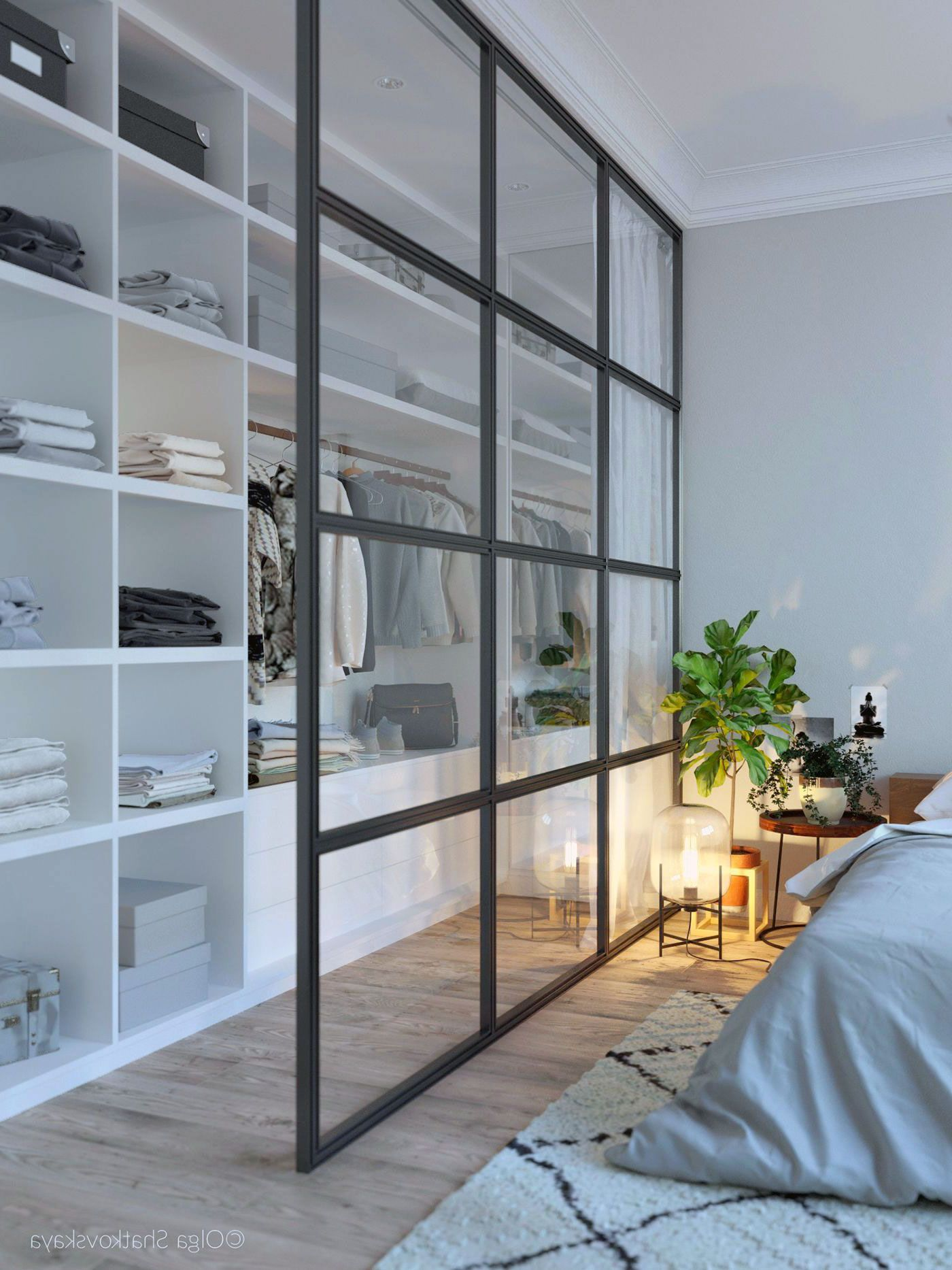 26 Awesome Scandinavian Bedroom Wardrobe Ideas - Outoflineartstudio