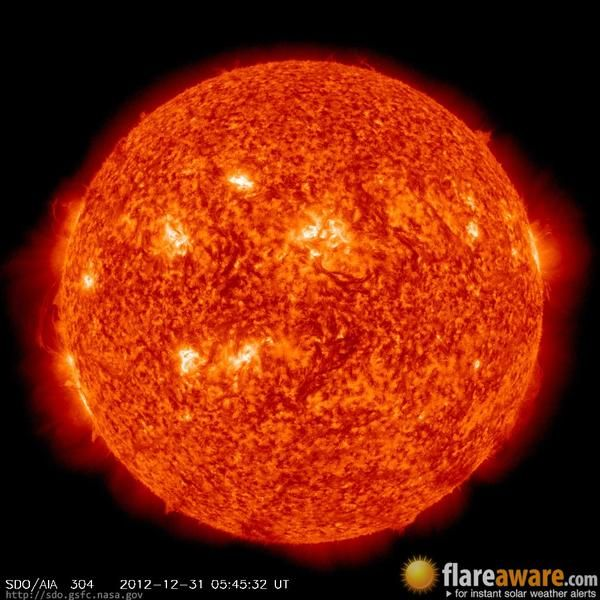 The Hourly Sun At 05 45 Am Utc On 31 December 2012 Space