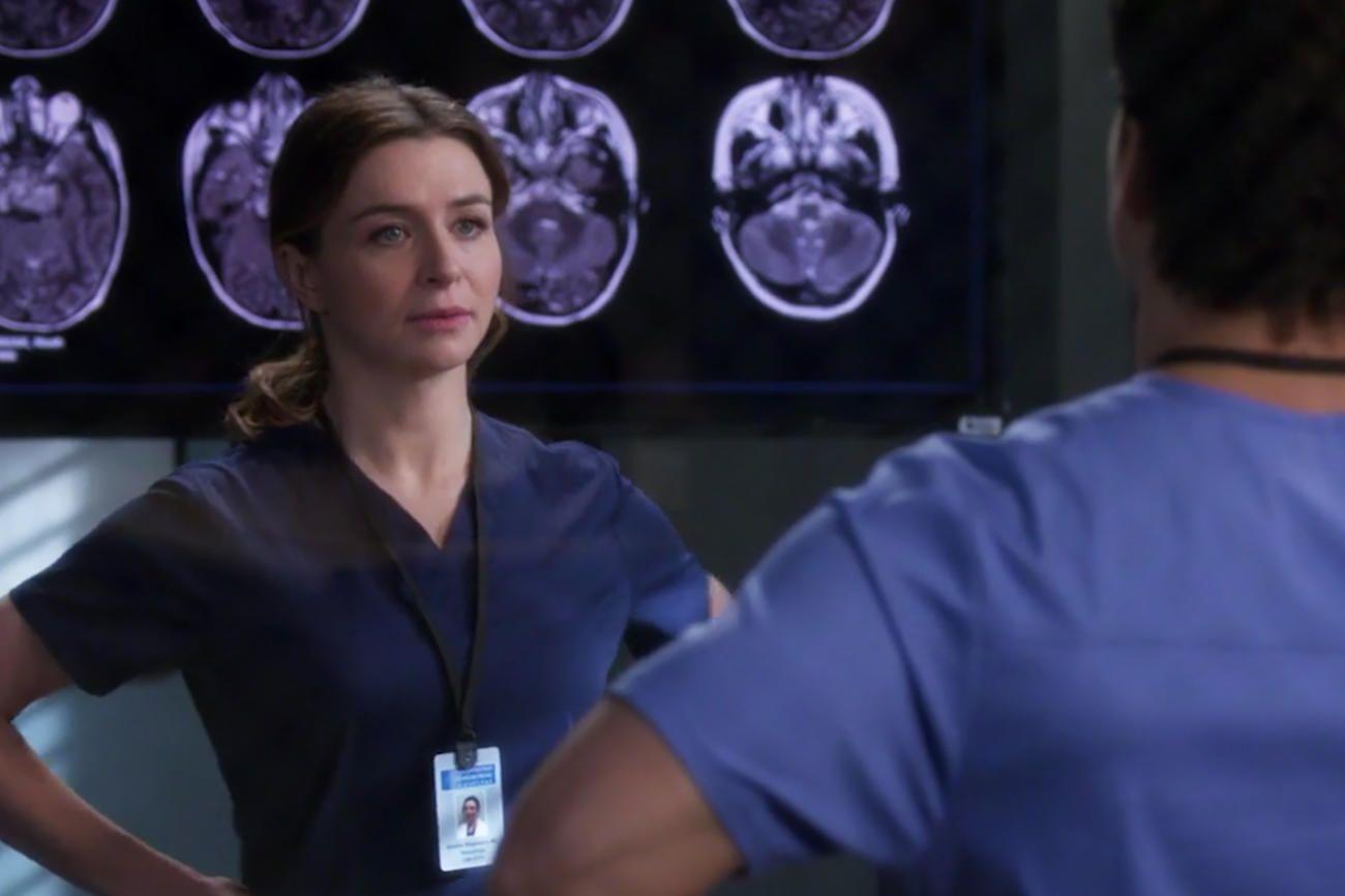 Grey\'s Anatomy Exclusive: Amelia Channels Wonder Woman Before ...