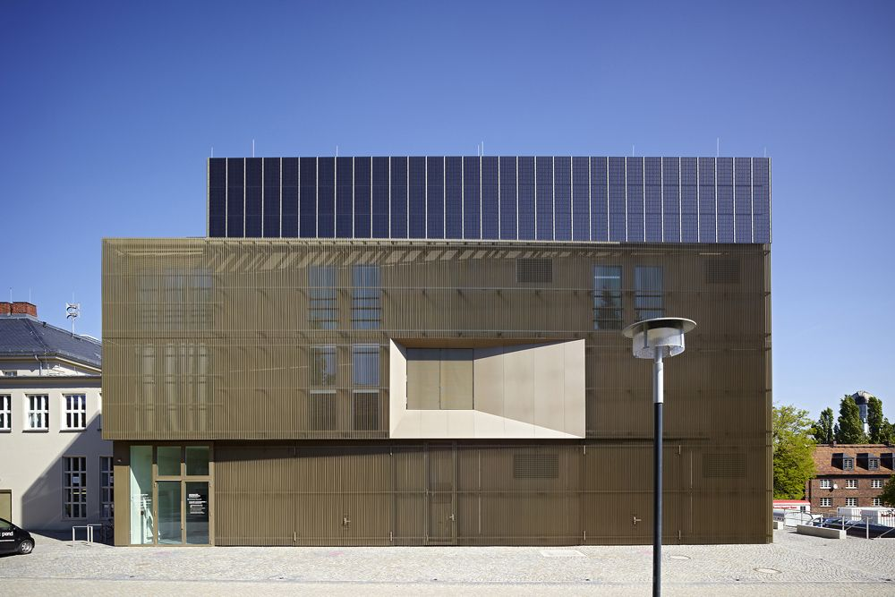 Projekt Zet Zentrum Fur Energietechnik Der Tu Dres Competitionline Architecture Photography Architecture Dresden