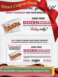 photograph regarding Krispy Kreme Printable Coupons known as Absolutely free Printable Krispy Kreme Coupon codes Printable Coupon codes June