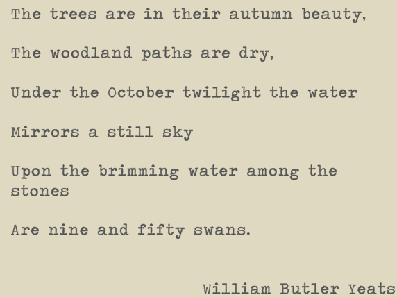 an interpretation of the coming of wisdom with time a poem by william butler yeats Yeats, through his mysticism and theosophy, would have been well-versed in this idea of the cycle of the ages and it is absolutely impossible to understand this poem without a rudimentary knowledge of it.