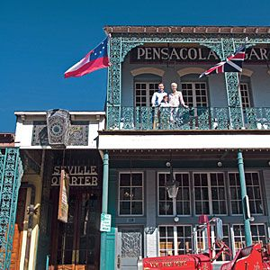 Pensacola, Florida: The Gulf Coast City on the Rise.  Historic attractions in downtown Pensacola are worth a day out from your beach vacation.