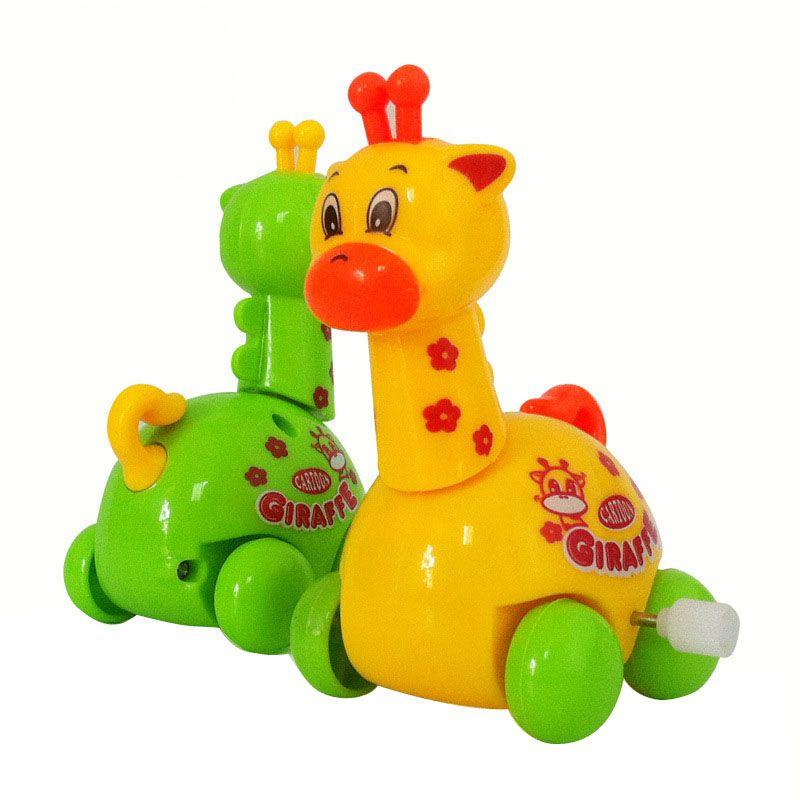 Neue Ankunft Wind Up spielzeug Tier Kleinkind Kind Giraffe Spielzeug Kind Geschenk Educational Development Niedrigen Preis F20