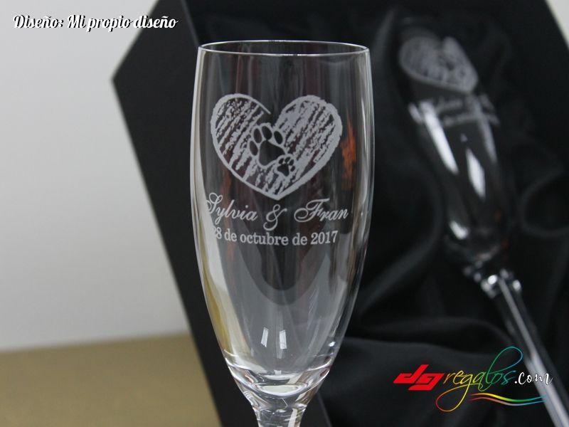 4d53d991522d Pack Copas de Cava Grabadas a Láser | Gravírozott üvegek | Copa de ...