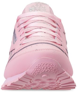Reebok Girls' Classic Leather Casual Sneakers from Finish