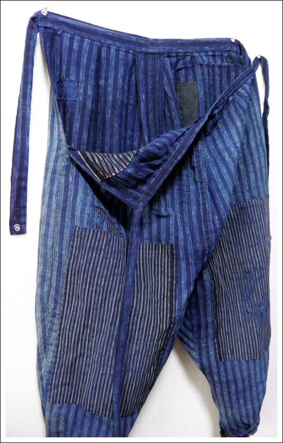 a9142bc6669 Japanese Farmer's Monpe, Gardening Pants--would like to make some of these  but not with a sagging crotch.