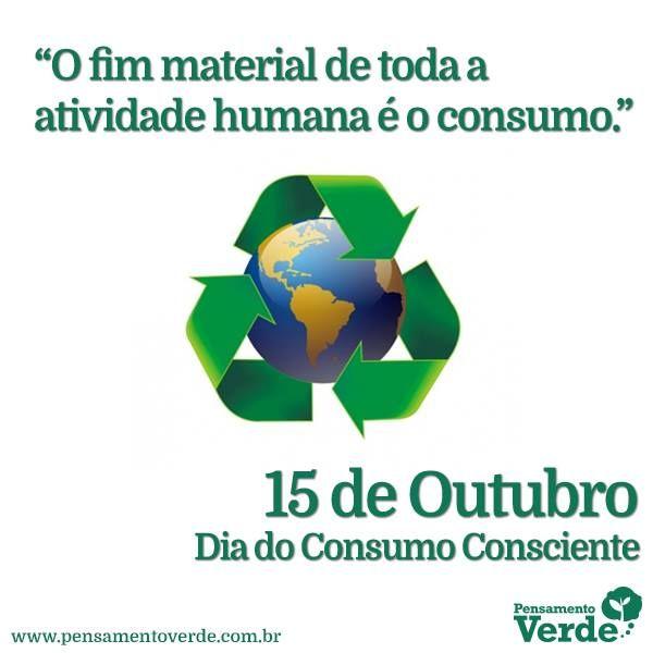 Dia do Consumo Consciente! | atividades extras | Pinterest