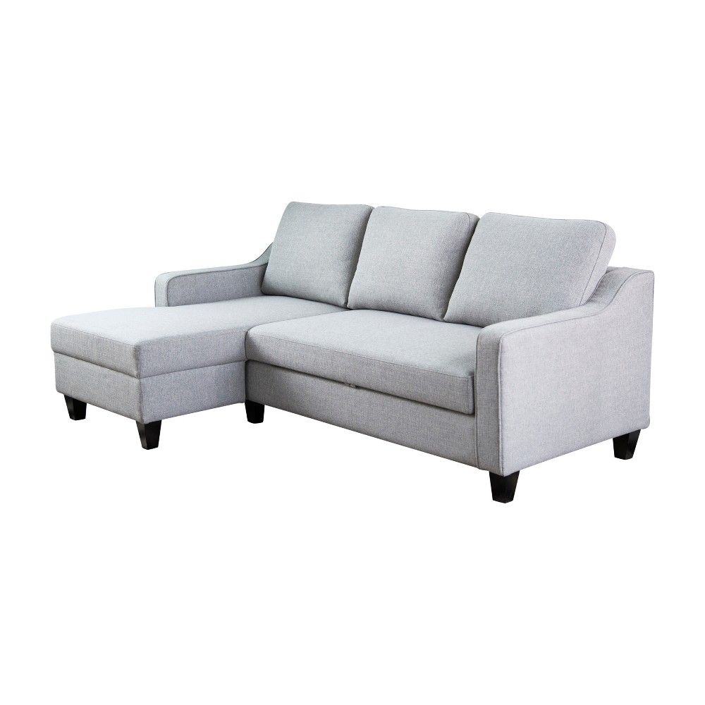 rudolph convertible sofa bed gray abbyson living products grey rh in pinterest com