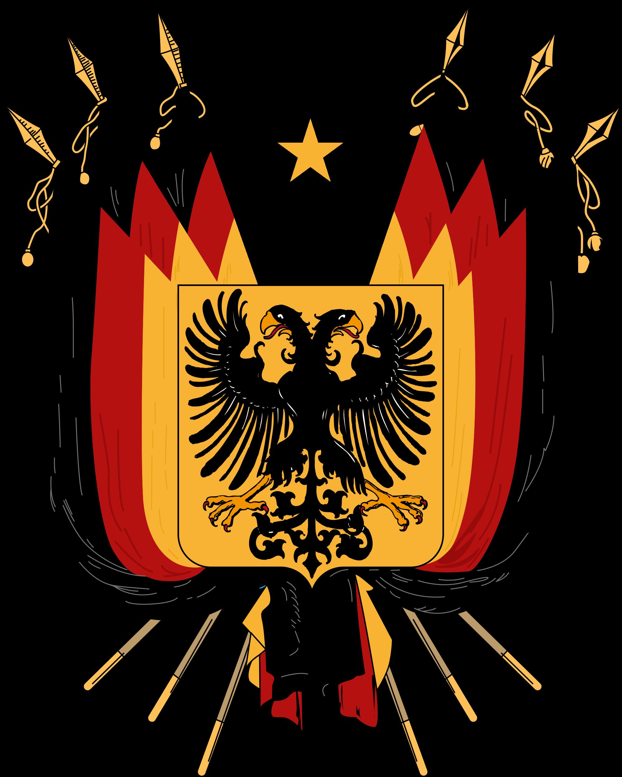 germany 1848 german coat of arms pinterest. Black Bedroom Furniture Sets. Home Design Ideas