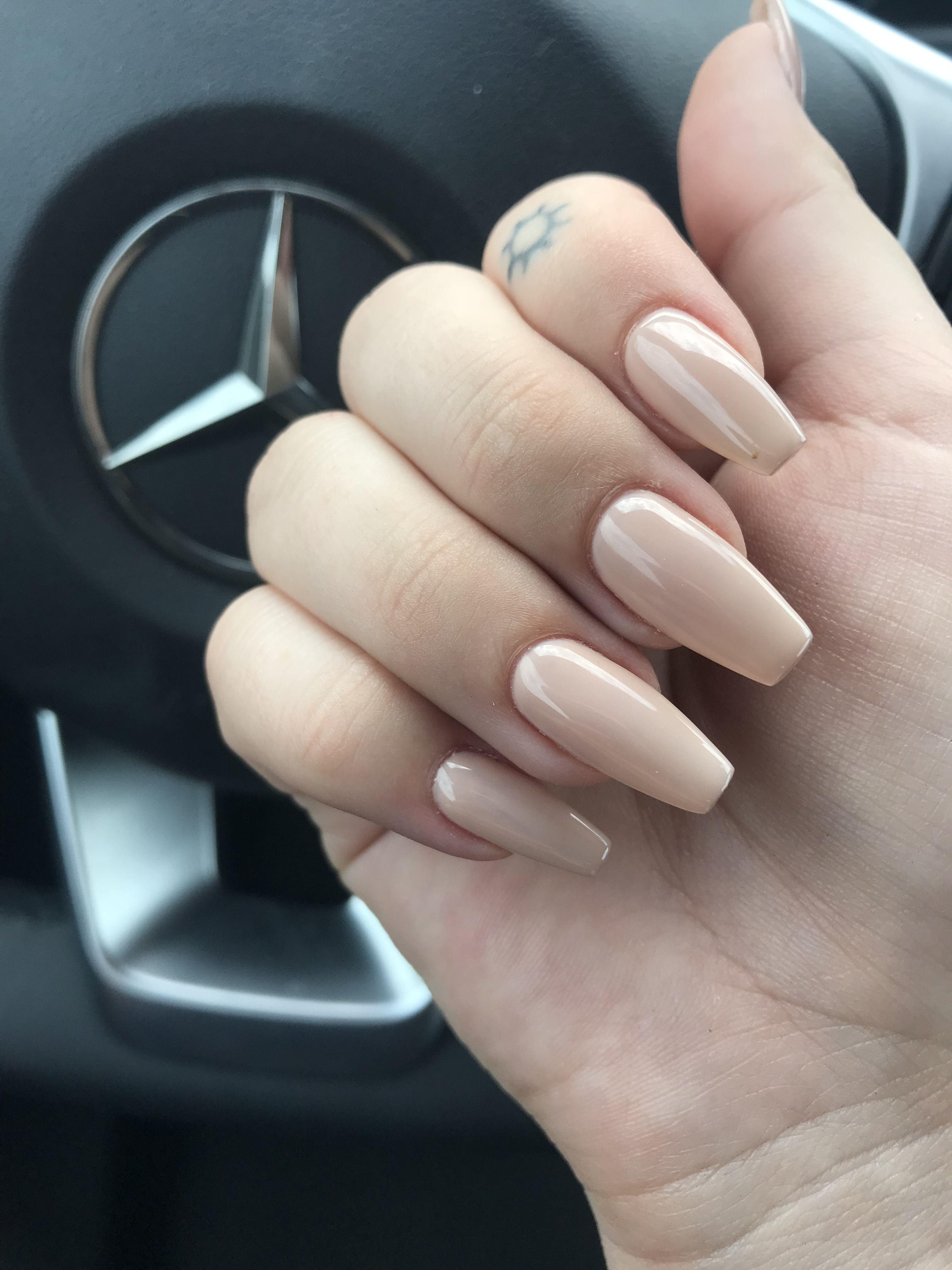 nude acrylic nails | nailzzz | Pinterest | Acrylics, Nude and Nail inspo