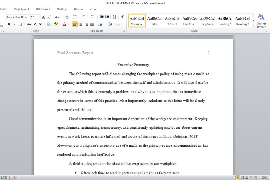 summary writing software