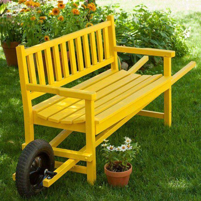 Voici Nos Exemples Pour Un Banc De Jardin Cottage Banc Jardin