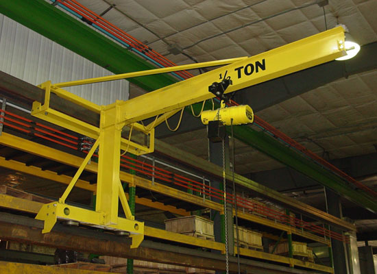 1 Ton Jib Crane Small Jib Crane Portable Jib Crane Great For Light Duty Cranes For Sale Crane Manufacturing