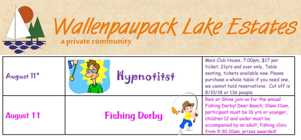 Wallenpaupack lake estates residents can join in the