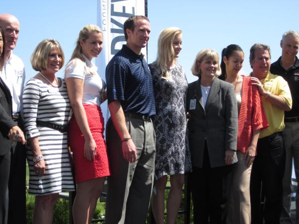 Drew Brees visits La Costa to kick of his Celebrity Golf Championship