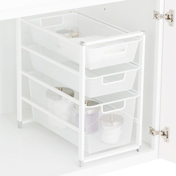 b n wire depot mesh drawers baskets closetmaid home storage organizers white the organization drawer kit h with closet compressed