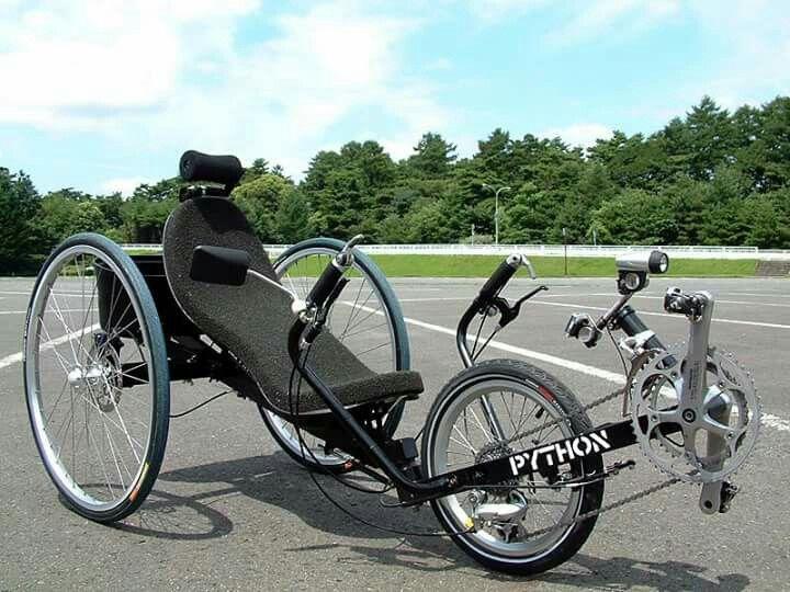 Python Trike Bisikletle Seyahat Bisiklet Bisiklet