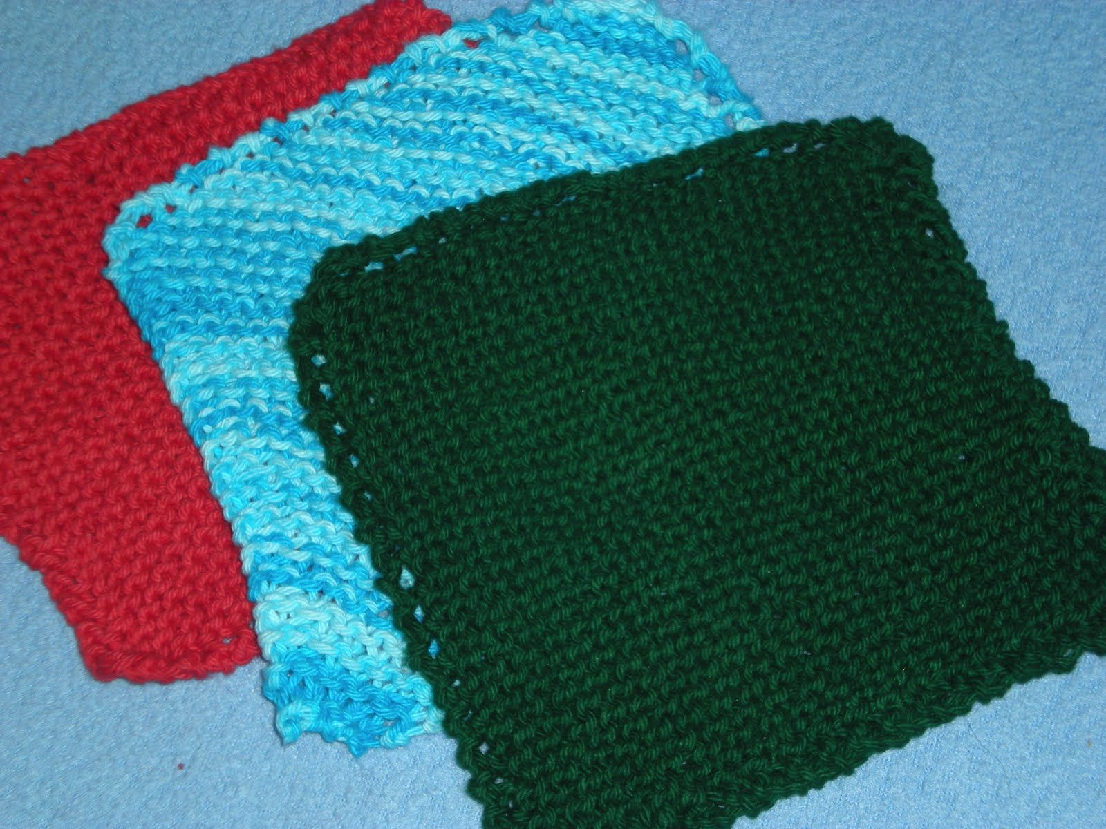 Secret Of The Forest: Free Pattern: Knitted Dishcloth | Knit ...