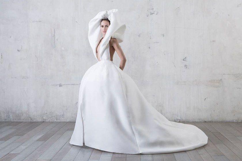 Image of 型格新娘的另類嫁衣:Stéphane Rolland 巴黎高訂春季系列