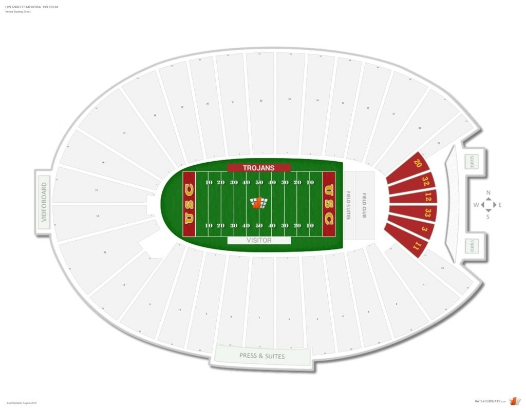 The Most Awesome Coliseum Seating Chart Rams