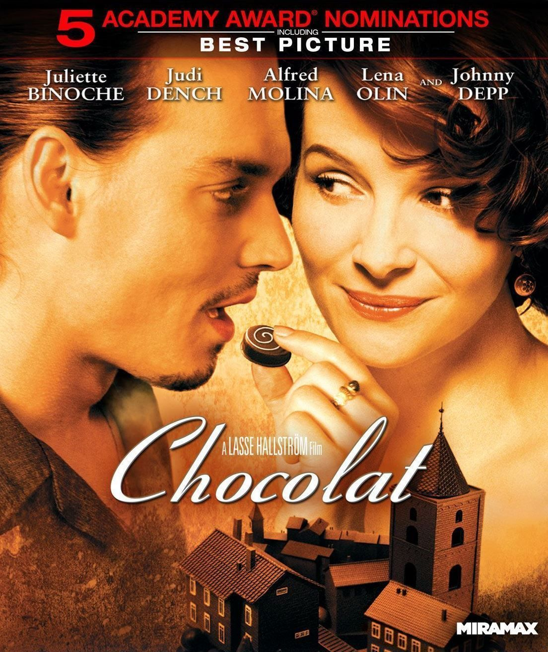 Chocolat Johnny Depp Classic Large Movie Poster Print