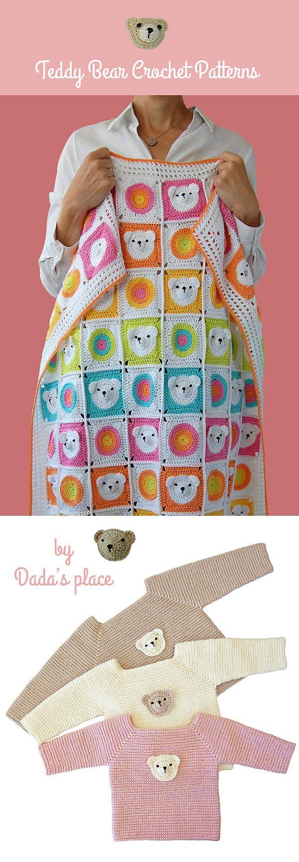 Teddy Bear Crochet Patterns by Dada's place