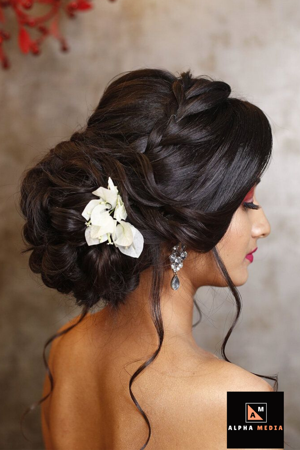 Awesome Looking Hair Styles Indian Bun Hairstyles Bridal Hairstyle Indian Wedding Braided Bun Hairstyles