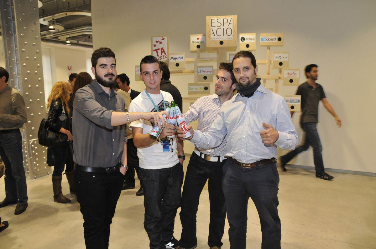 #TA2012 Un especial oleeeeeee ;D al equipo de audio-visual de Espacio Fundación Telefónica ;D Gracias chicos