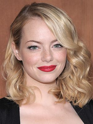 emma stone hairstyles  october 17 2012  dailymakeover