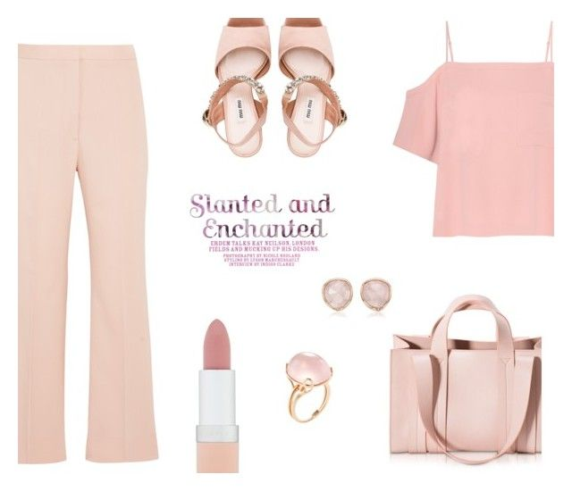 ♡ by macopa on Polyvore featuring polyvore fashion style T By Alexander Wang STELLA McCARTNEY Miu Miu Corto Moltedo Goshwara Monica Vinader Rimmel clothing
