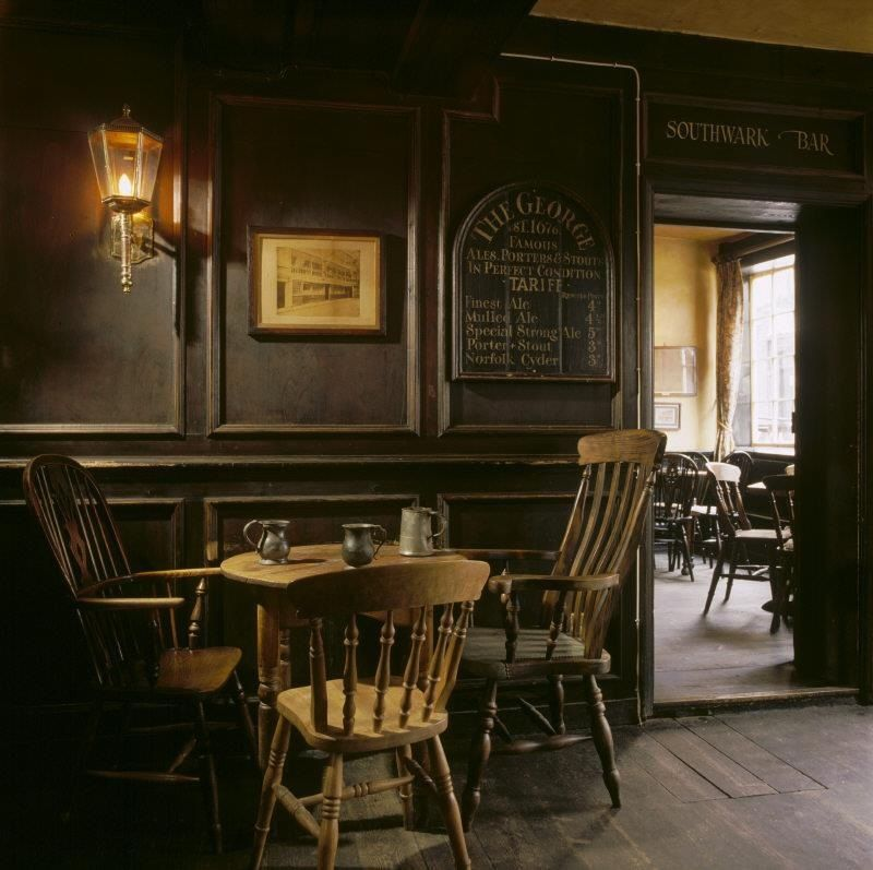 Shakespeare's Local Pub Molding And Chair Rail