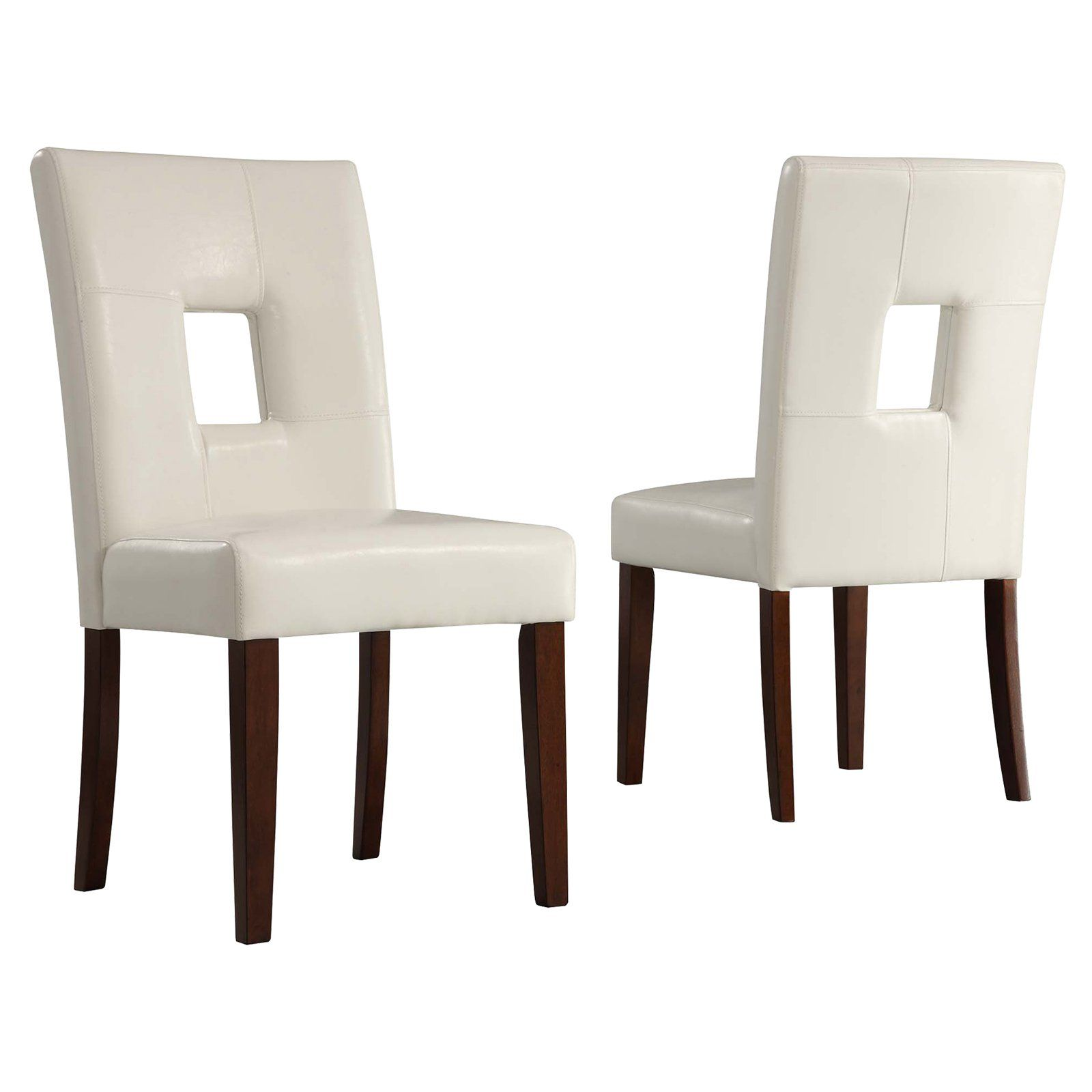 Weston Home Madelin Keyhole Dining Chair Set Of 2 Dining