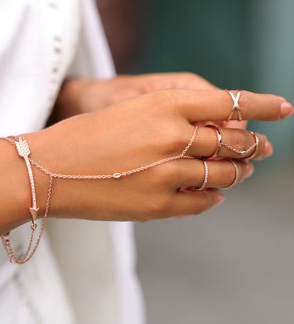I Really Like Hand Chains This Could Be In Gold Or Silver Bracelet