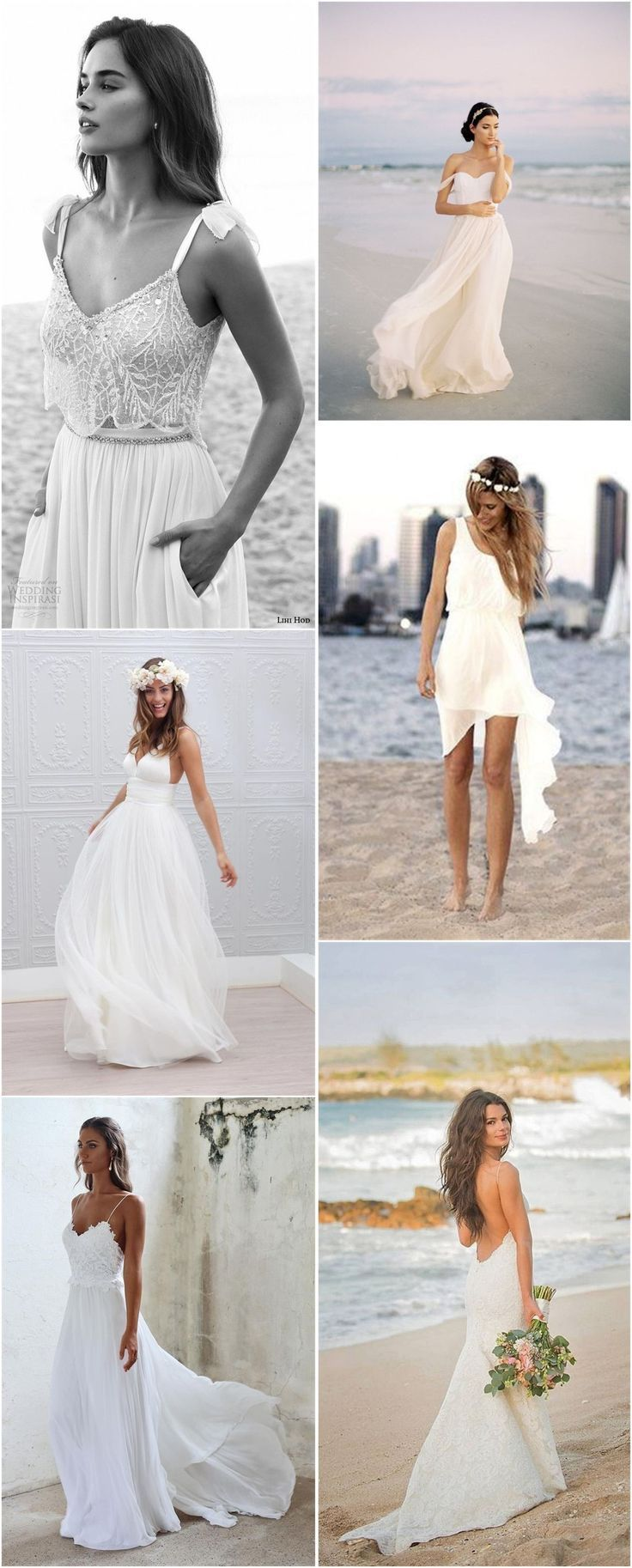 Top Beach Wedding Dresses Ideas to Stand You out gowns