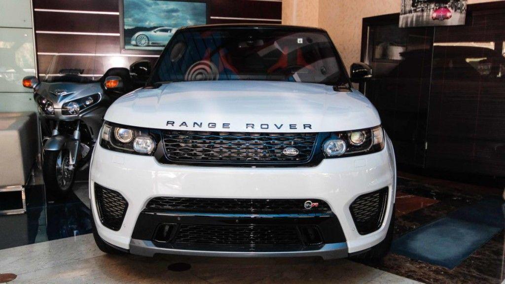 Land Rover Range Rover Sport SVR 2015 Range rover