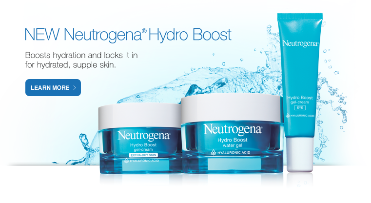 NEW Hydro Boost Boosts hydration and locks it in for