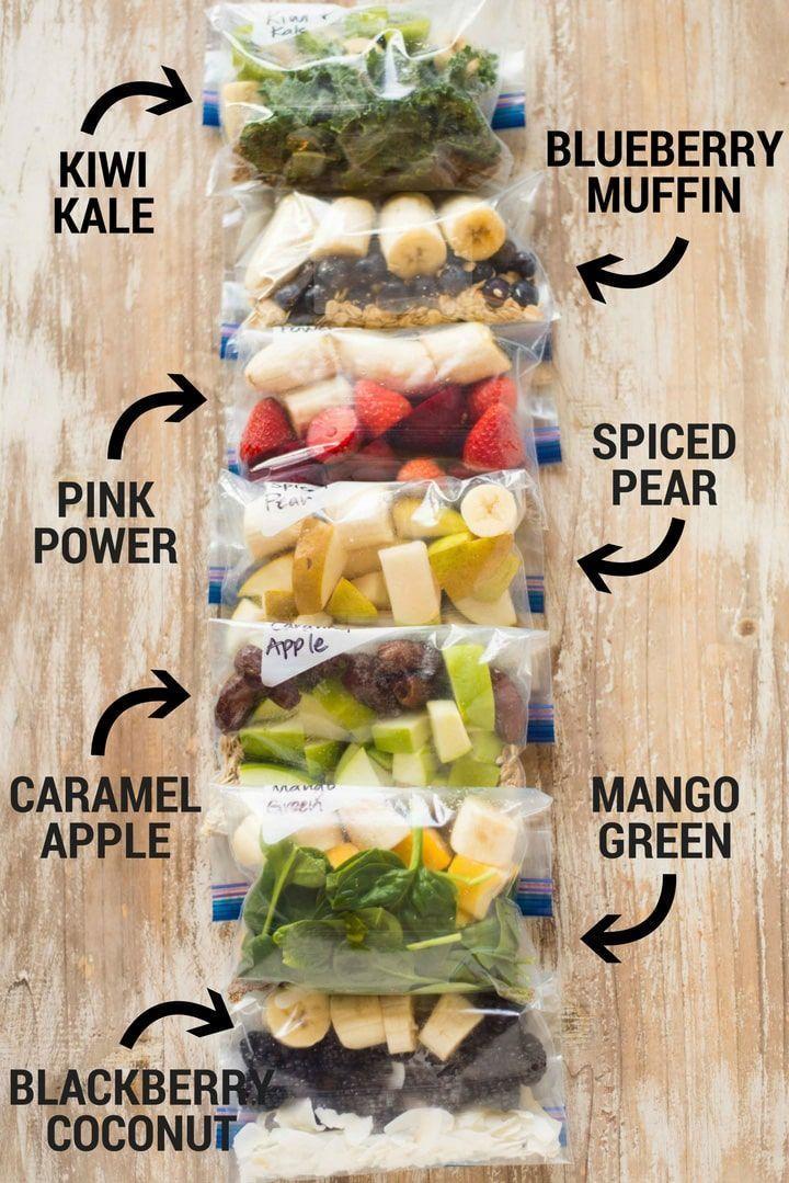 14 Fruit Smoothie Freezer Packs