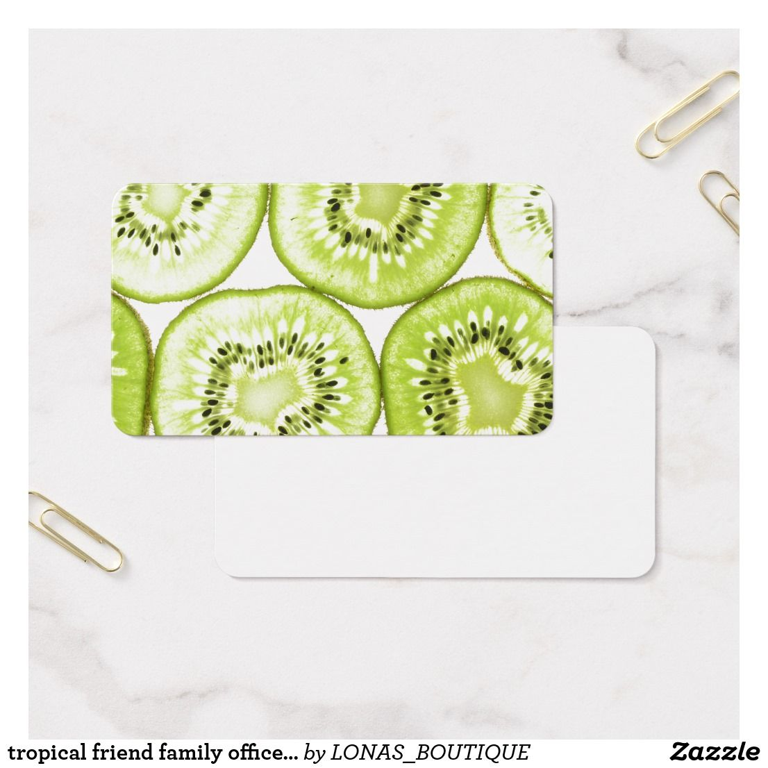 tropical friend family office home fruit mini business card | FoodY ...