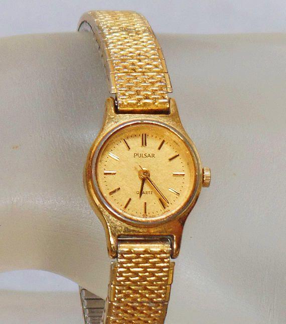 This Vintage Gold Pulsar Las Watch