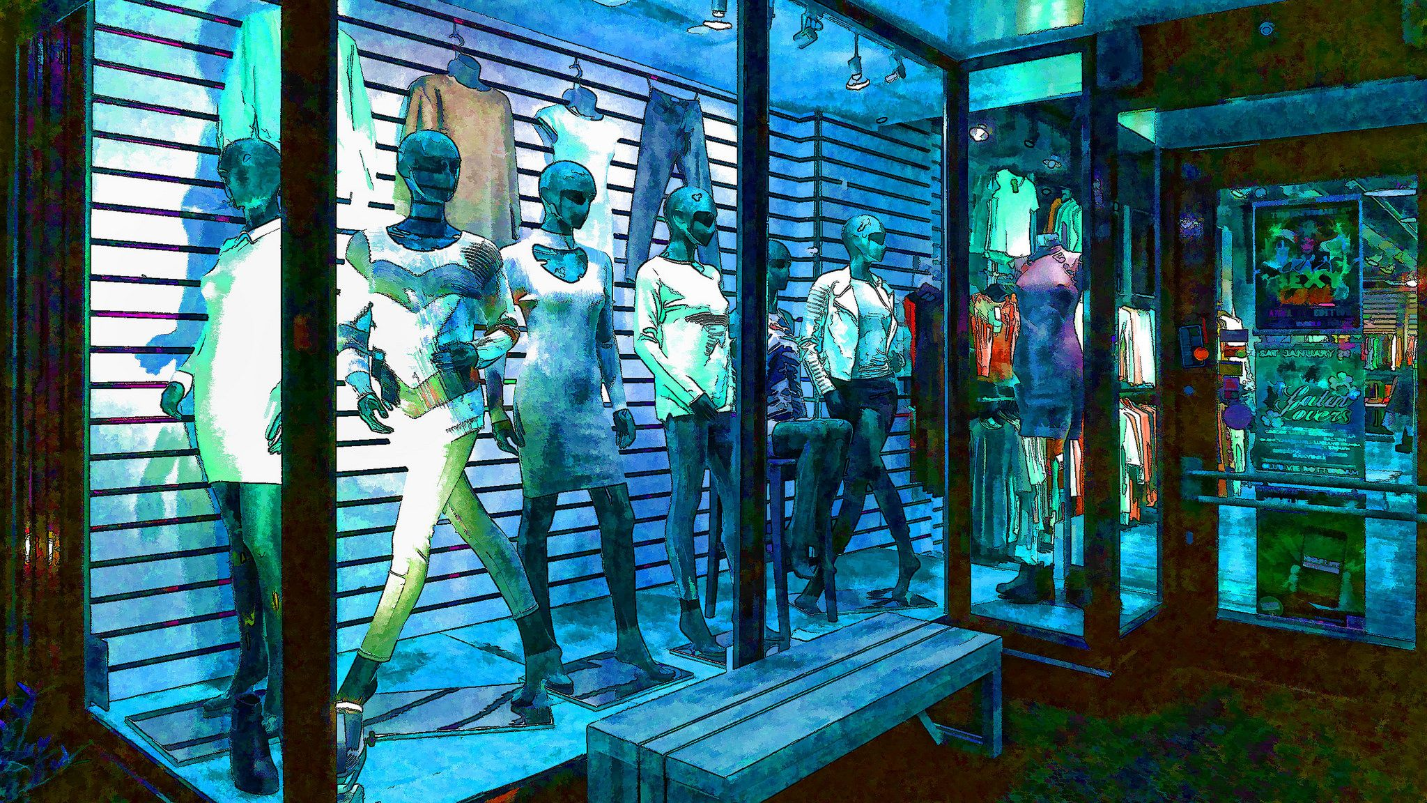 https://flic.kr/p/RUDC6F | window mannequins | captured in Den Haag