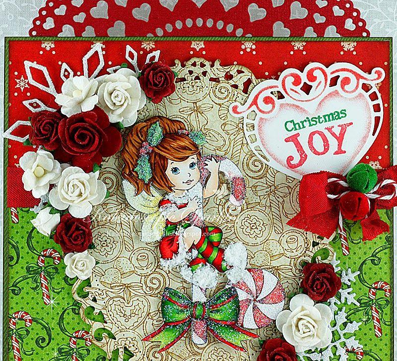 Kaleidoscopic Sparkles: Christmas Candy Fairy ~ kaleidoscopicsparkles.blogspot.com
