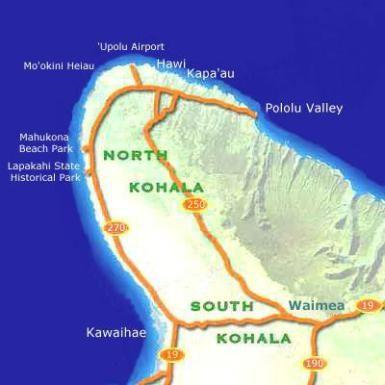 Kohala Coast Hawaii Map.Things To Do For Free On Hawaii S Big Island Hawaii Big Island