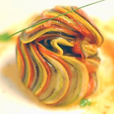 Food Art Vegetarian Entree Ideas