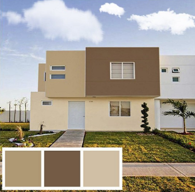 Colores modernos para exteriores de casas en imagenes for Colores para frentes de casas