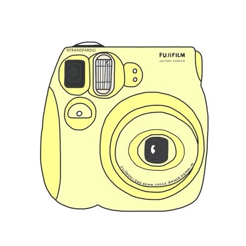 Polaroid With Images Yellow Aesthetic Pastel Tumblr Stickers