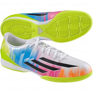 100% authentic f07ac 9324d adidas Mens F10 Messi Indoor Soccer Shoes