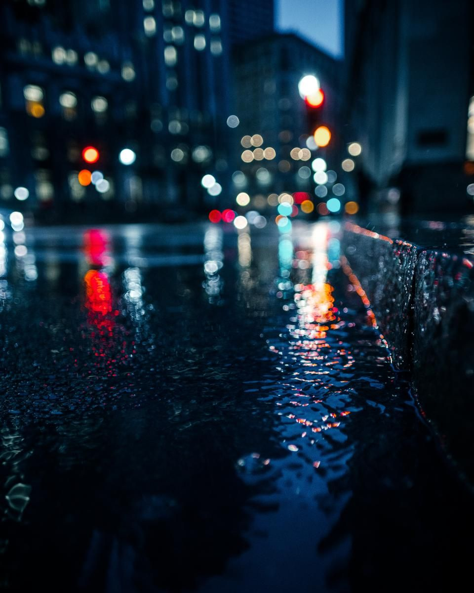 Night lights queens walk london - Bokeh Lights Night Dark Photography Urban City Car Transportation Vehicle Rain Building Establishment