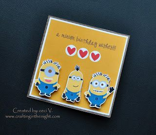 Crafting in the night minion birthday card action wobbles www crafting in the night minion birthday card action wobbles craftinginthenight bookmarktalkfo Choice Image